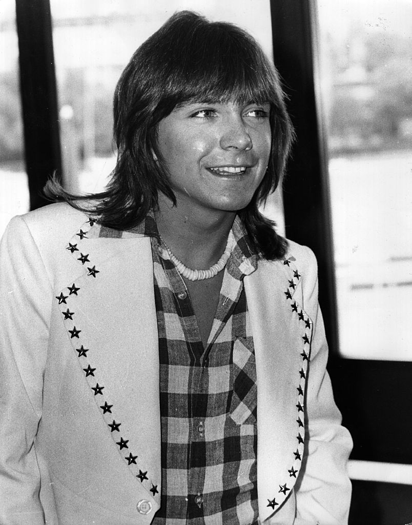American pop star David Cassidy at a press conference in the LWT studios on the South Bank, London. | Getty Images