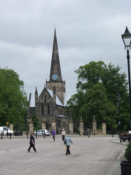 Iglesia St Cuthbert in Darlington | Quelle: Wikimedia Commons