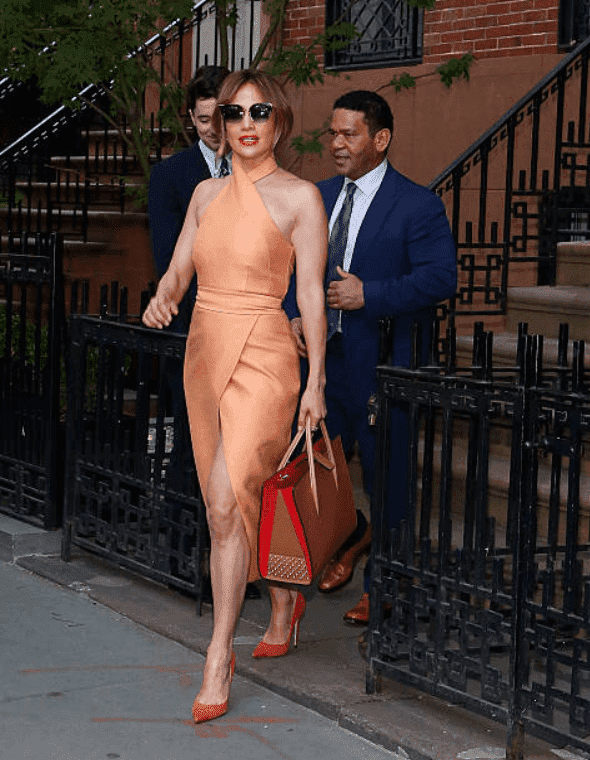 Jennifer Lopez is pictured making an appearance at the Hillary Victory Fund fundraiser, at the residence of Harvey Weinstein, on June 20, 2016 in New York City | Source: Getty Images (Photo by Taylor Hill/GC Images)