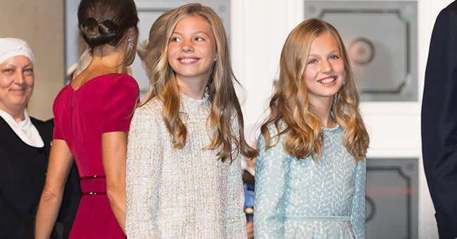 La princesa Leonor y la infanta Sofía de España, 2018, Madrid. | Foto: Getty Images
