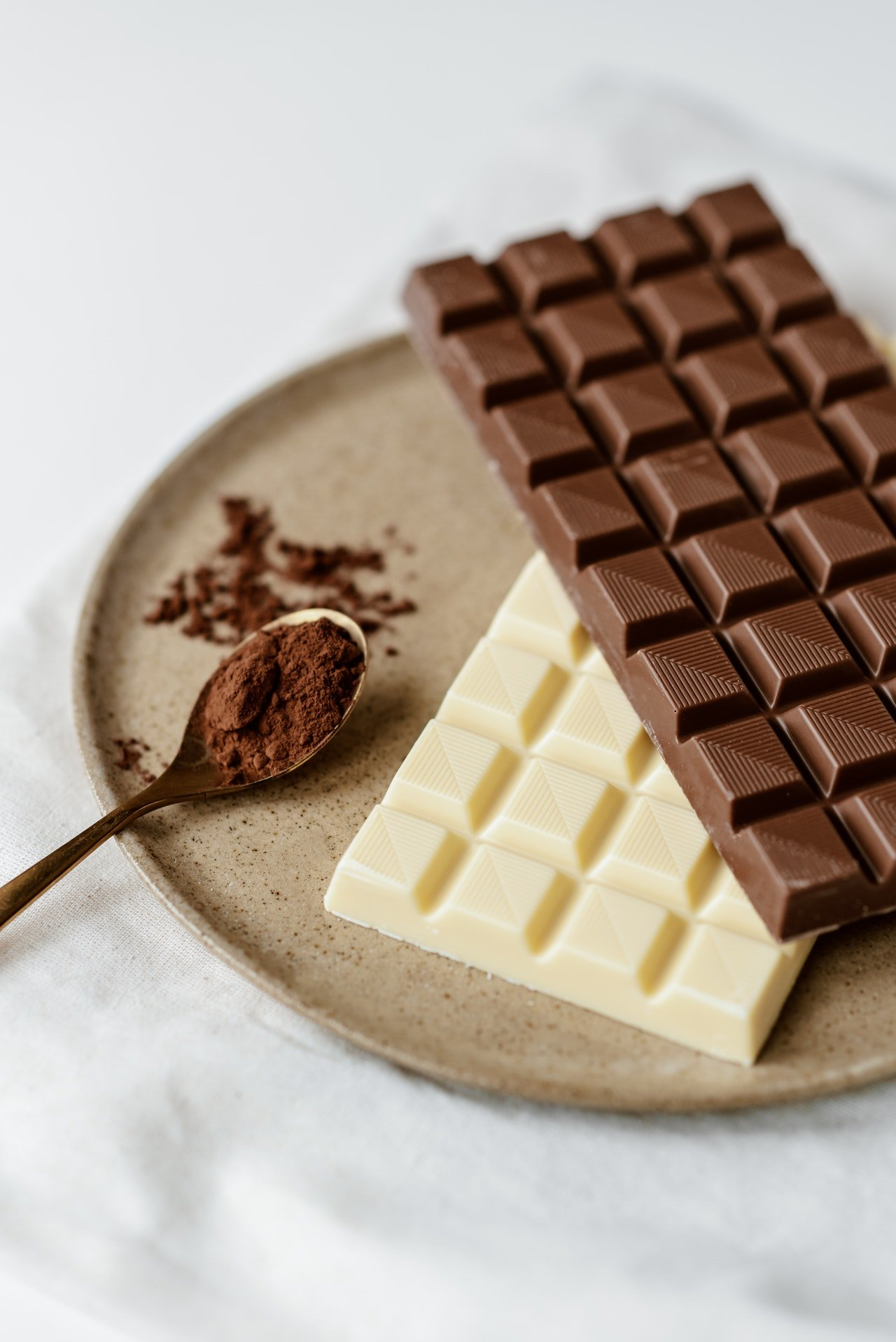 Photo of sweet chocolates on a plate | Photo: Pexels