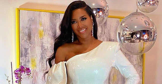 Kenya Moore's Daughter Brooklyn Wears Adorable Red Polka-Dot Outfit in a New Picture