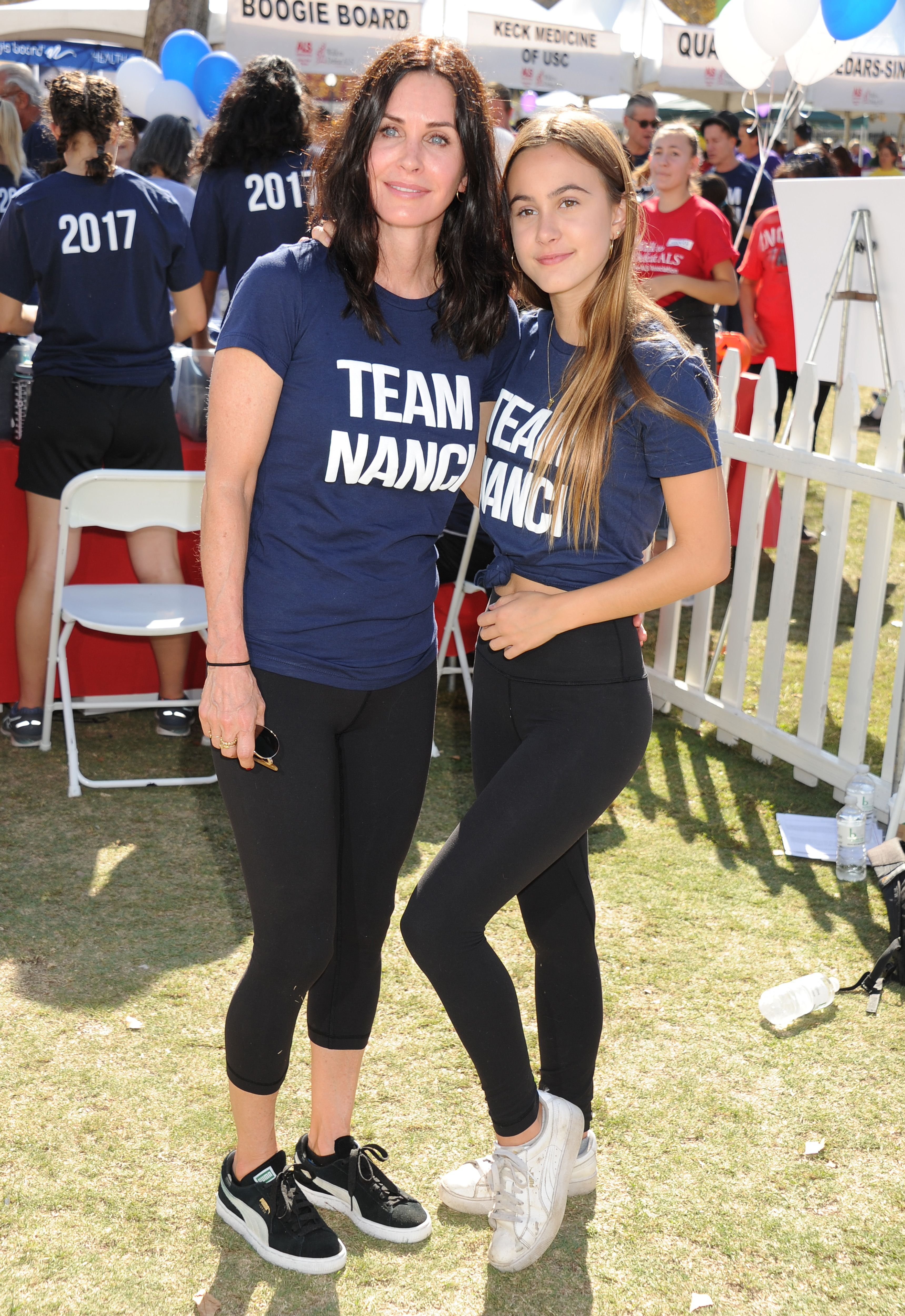 Courteney Cox and daughter Coco Arquette at the 15th Annual LA County Walk To Defeat ALS in 2017 in Los Angeles | Source: Getty Images