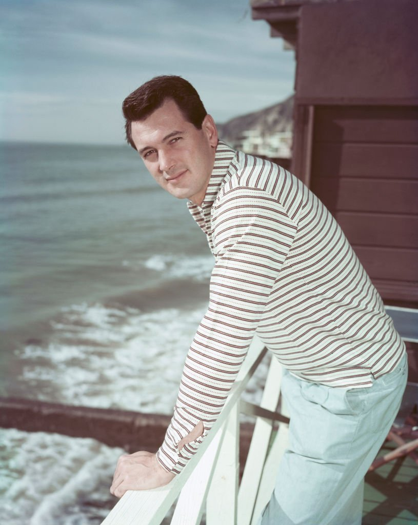 L'acteur américain Rock Hudson. | Photo : Getty Images