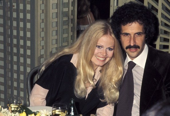 Sally Struthers and Husband William Rader at Bistro Garden in Beverly Hills, California | Photo: Getty Images