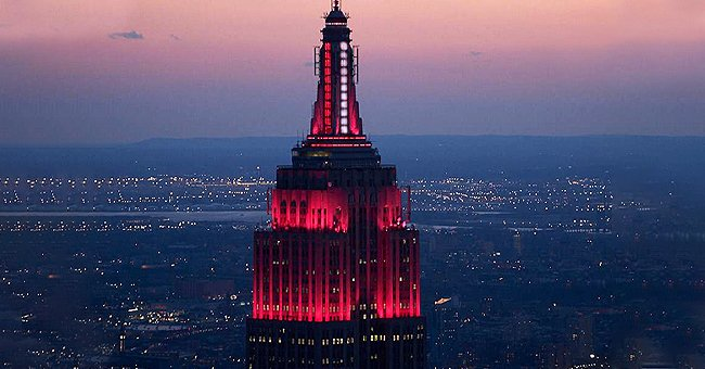 Empire State Building Supports Medics Counteracting COVID-19 with a Siren Heartbeat and Lights
