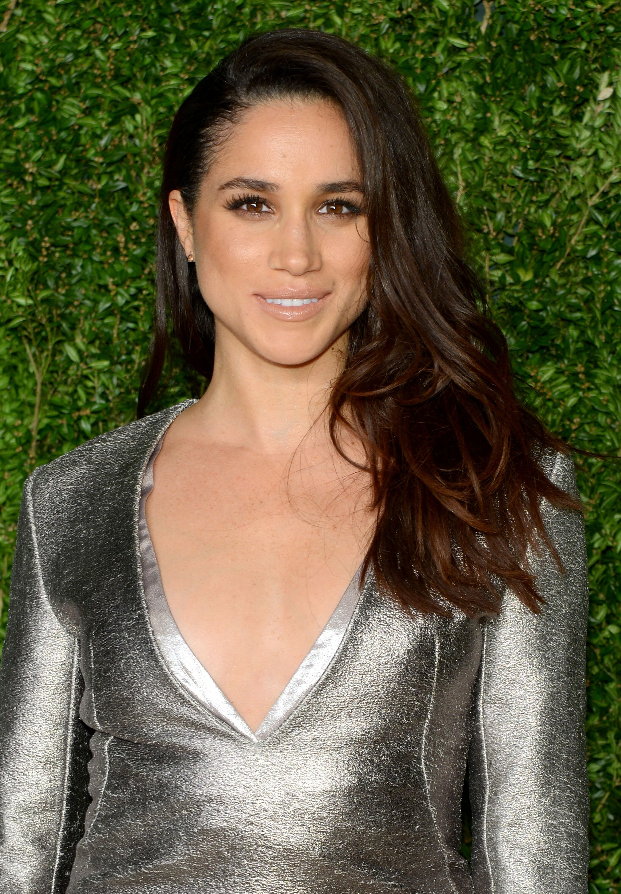 Meghan Markle participe aux 12e gala annuels du fonds CFDA / Vogue Fashion Fund au Spring Studios le 2 novembre 2015 à New York | Photo: Getty Images