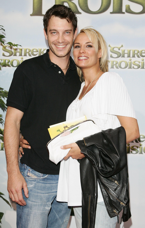 Bertrand Lacherie et sa femme Élodie Gossuin. l Source : Getty Images