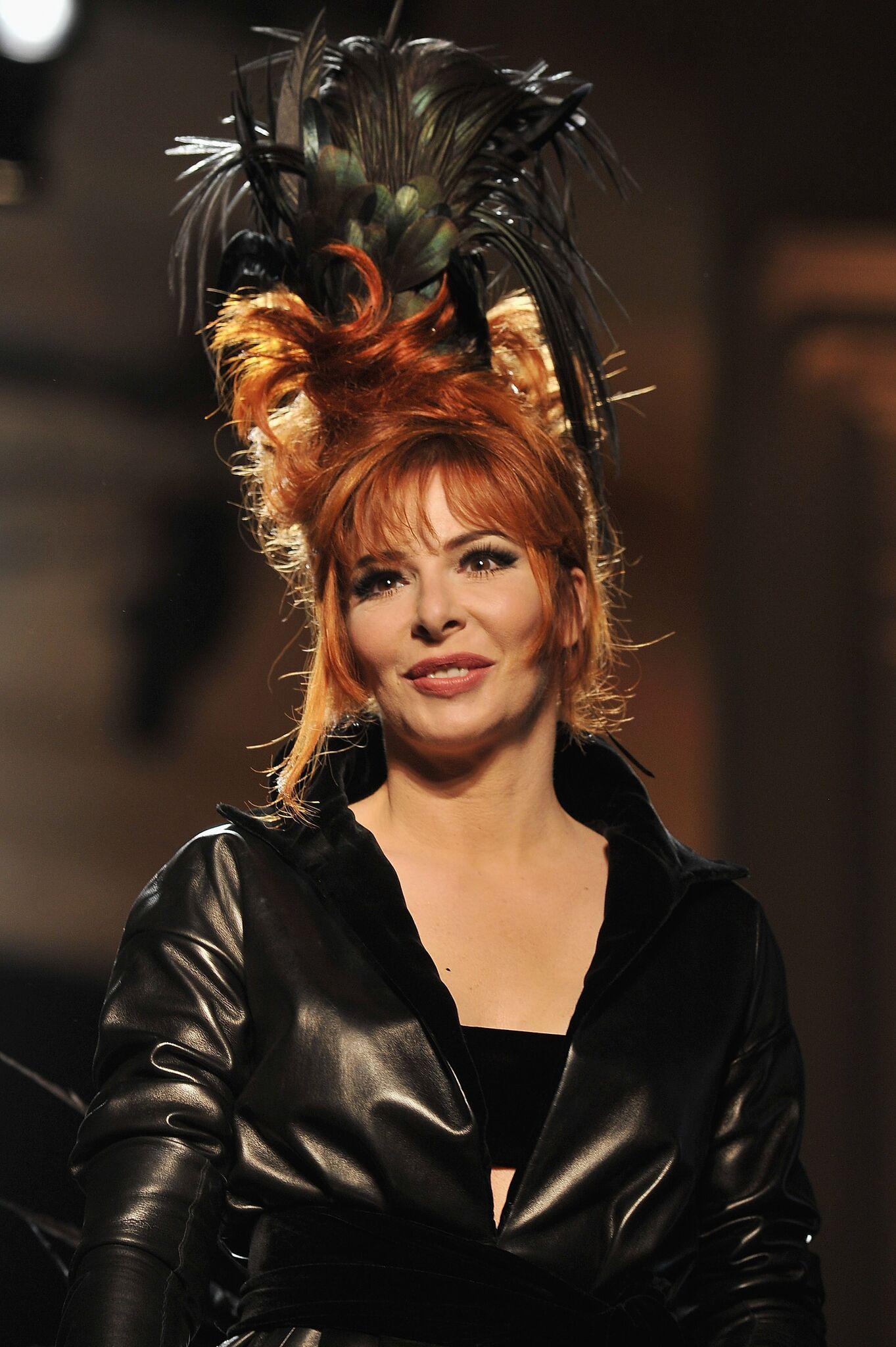 La chanteuse incontournable Mylène Farmer. l Source: Getty Images