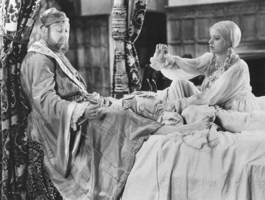 """Charles Laughton and Elsa Lanchester in """"The Private Life of Henry VIII"""" directed by Alexander Korda 