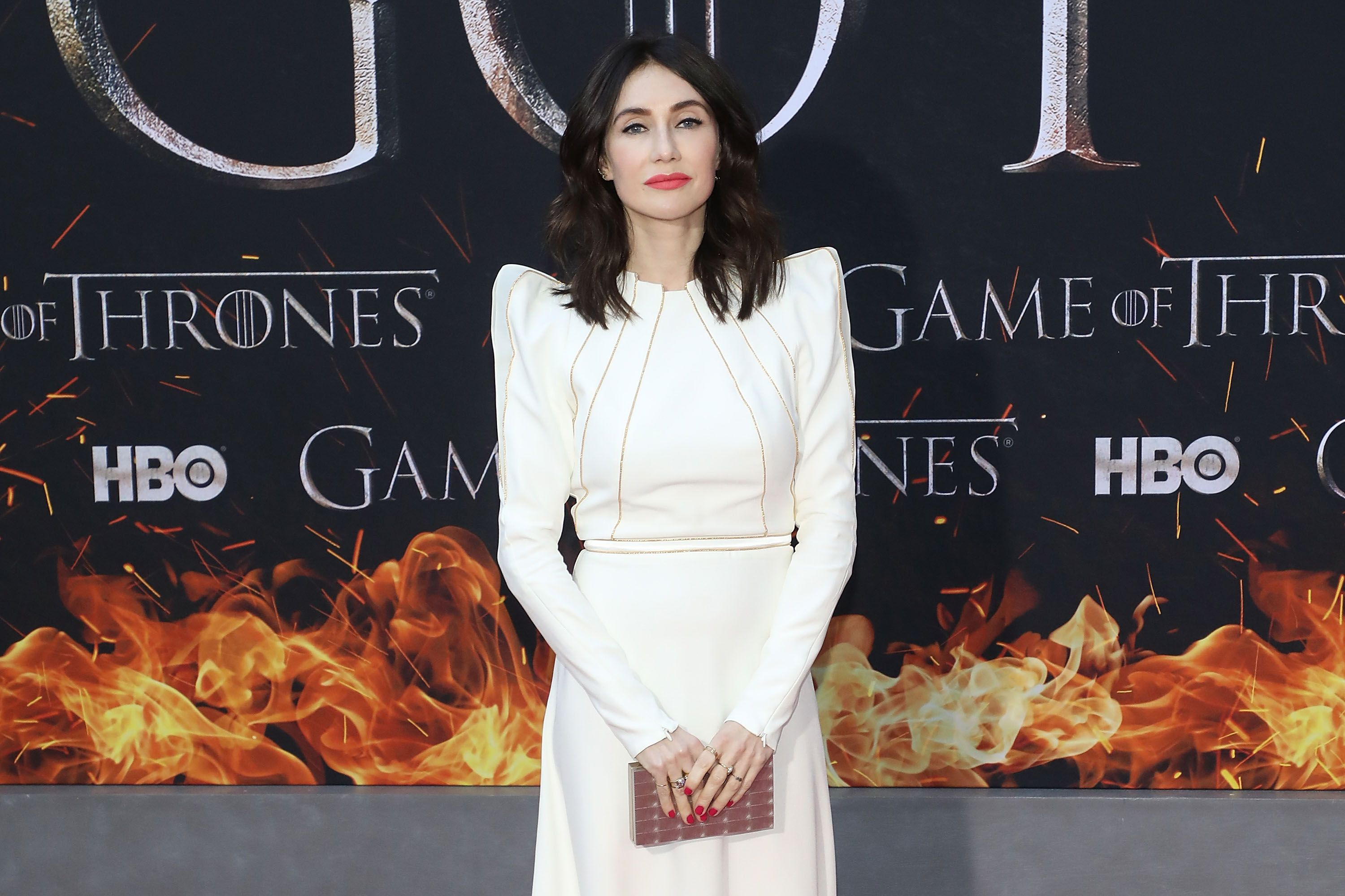 """Carice van Houten at the Season 8 premiere of """"Game of Thrones"""" in 2019 in New York City   Source: Getty Images"""