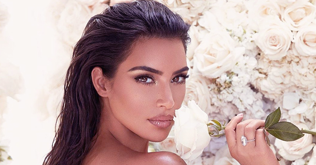 Kim Kardashian Looks Ethereal in a Semi-Sheer White Gown for a 'Mrs West Collection' Photoshoot
