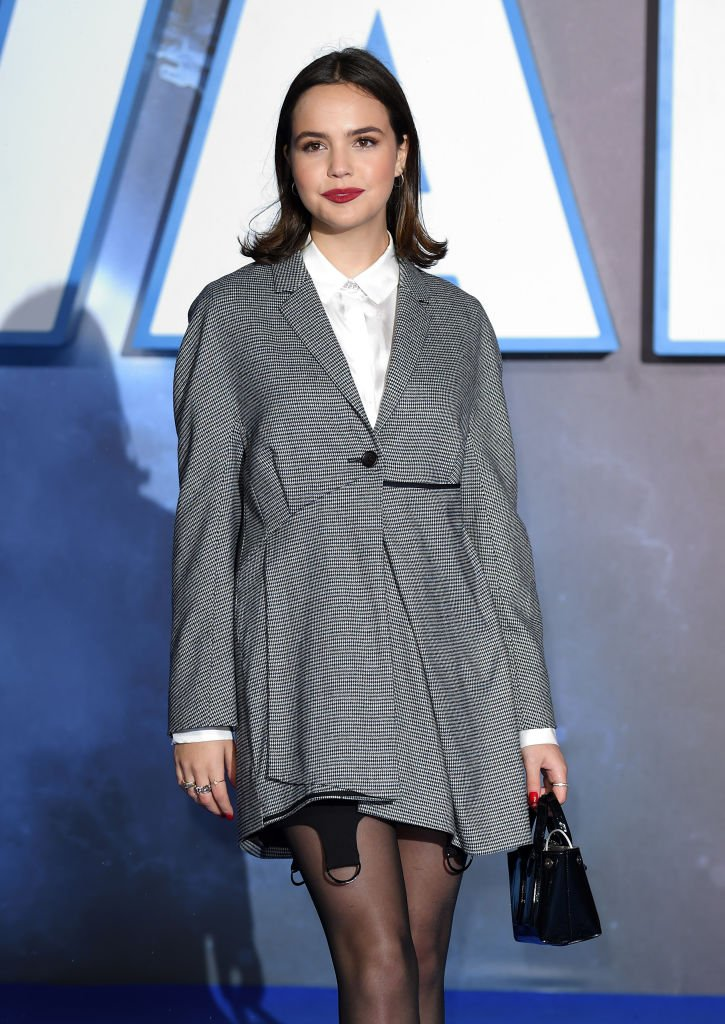 """Bailee Madison attends the """"Star Wars: The Rise of Skywalker"""" European Premiere at Cineworld Leicester Square on December 18, 2019 Photo: Getty Images"""