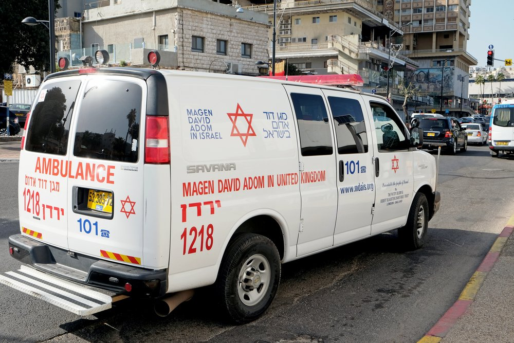 Une ambulance en Israël | Source : Shutterstock