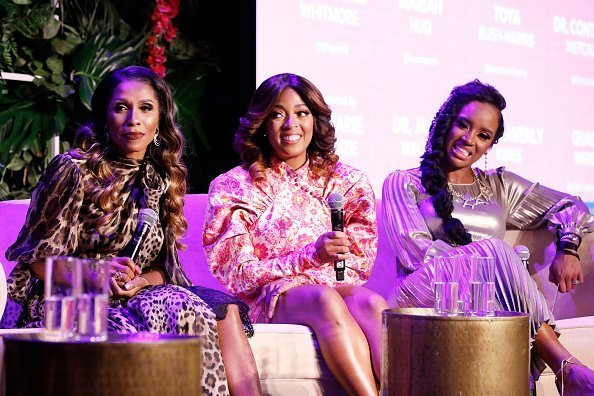 Dr. Jackie Walters, Toya Bush-Harris, Dr. Contessa Metcalfe at Brovocon on Friday, November 15, 2019 | Photo: Getty Images