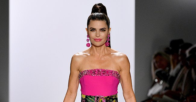 Lisa Rinna from RHOBH & Her Model Daughters Rocked the Runway at Dennis Basso's Show during NYFW 2020