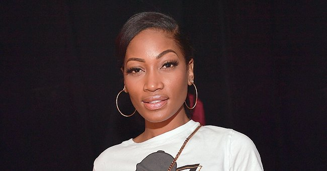 Erica Dixon Shows a Sweet Video of Her Twin Daughter Eryss Trying to Type on Her Laptop