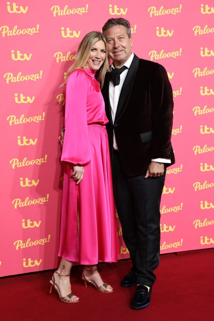 Lisa Faulkner and John Torode attend the ITV Palooza in London on November 12, 2019 | Photo: Getty Images