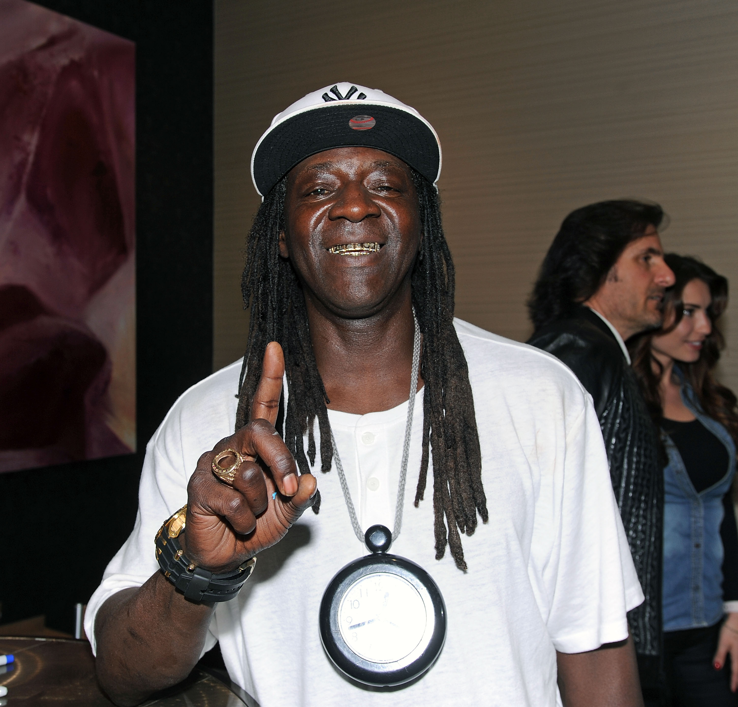 Flavor Flav at the Chiller Theatre Expo in 2017. | Photo: Getty Images