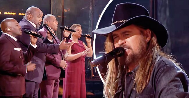 AGT Finale: Voices of Service Sang 'Some Gave All' with Billy Ray Cyrus and Fans Were Moved