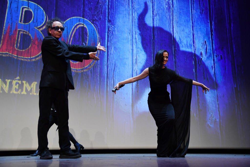 Eva Green et Tim Burton. l Source : Getty Images