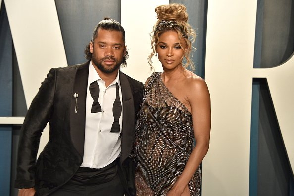 Russell Wilson and Ciara at Wallis Annenberg Center for the Performing Arts on February 09, 2020 in Beverly Hills, California.   Photo: Getty Images