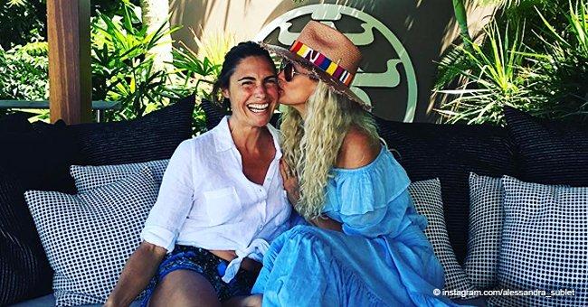 Laeticia Hallyday et Alessandra Sublet mettent fin aux rumeurs sur leur conflit avec une nouvelle photo
