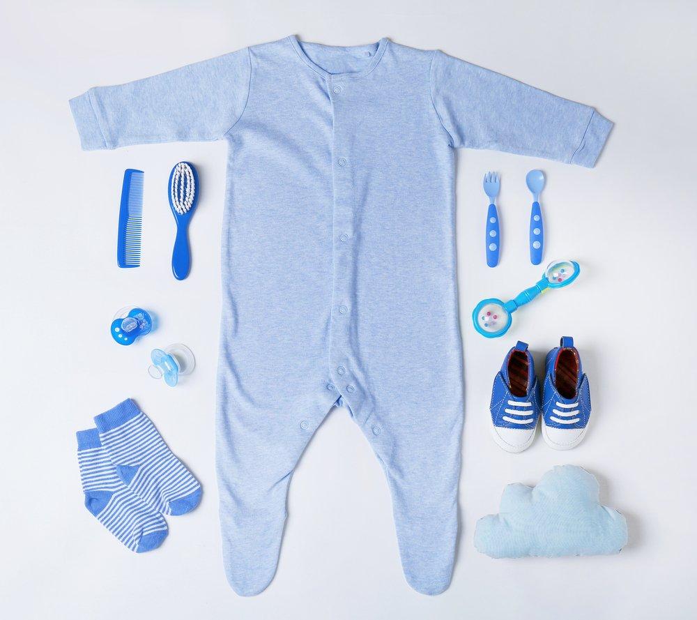 Layette pour un garçon. | Photo : Shutterstock