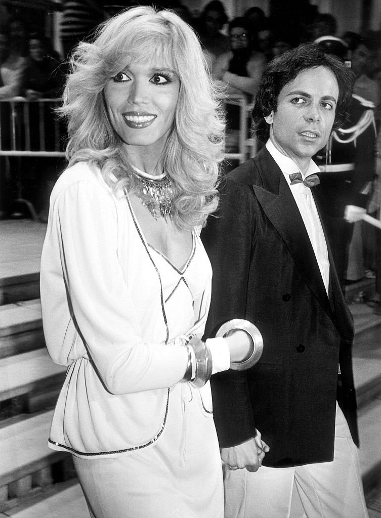 Alain-Philippe Malagnac et Amanda Lear en 1979. | Photo : Getty Images