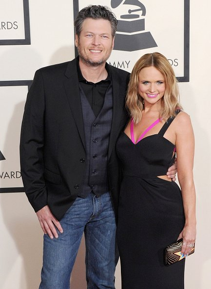 Blake Shelton and Miranda Lambert at the 57th GRAMMY Awards on February 8, 2015 | Photo: Getty Images
