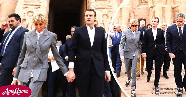Brigitte Macron, taclée par les gilets jaunes, est protégée par son entourage qui dément que ces habits coûteux ne lui appartiennent pas