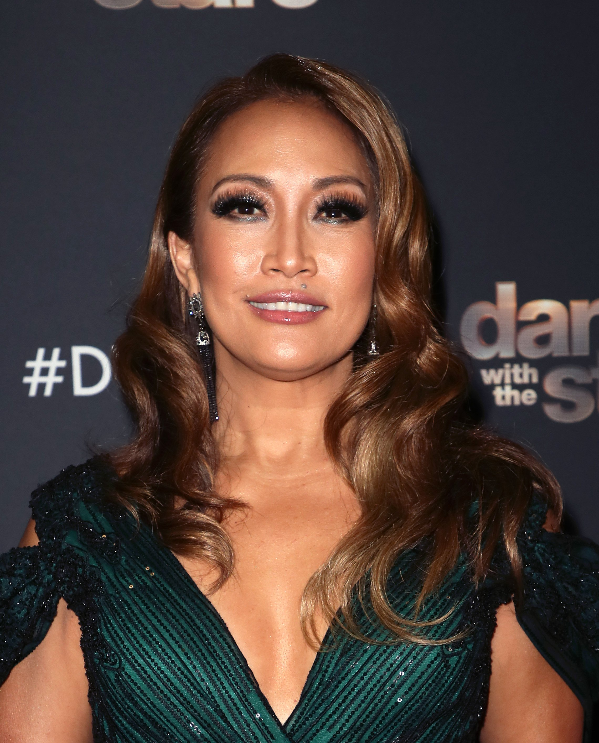 "Carrie Ann Inaba at ""Dancing with the Stars"" Season 28 at CBS Television City on October 14, 2019, in Los Angeles, California 