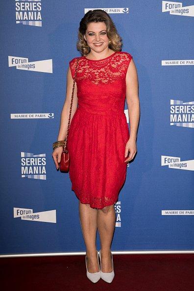 Sophie Guillemin assiste à la soirée d'ouverture du Festival Series Mania au Grand Rex à Paris. | Photo: GettyImage