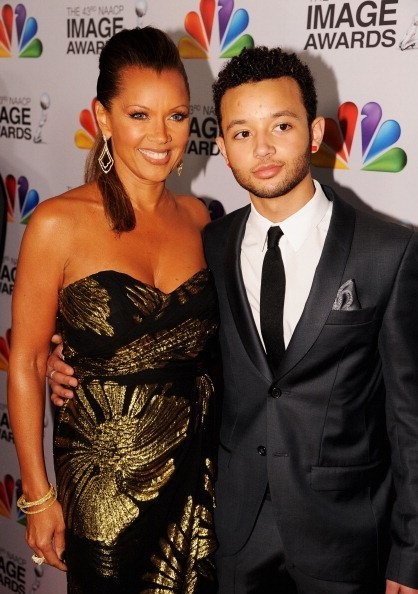 Vanessa Williams and son, Devin Hervey at the 43rd NAACP Image Awards after party on February 17, 2012 | Photo: Getty Images