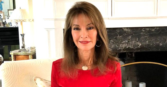 Susan Lucci, 73,  Shows off Her Killer Legs in a Stunning Pink Dress