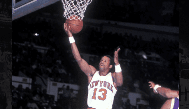 Ray Williams playing for the New York Knicks | Photo: YouTube/Ray WilliamsFoundation