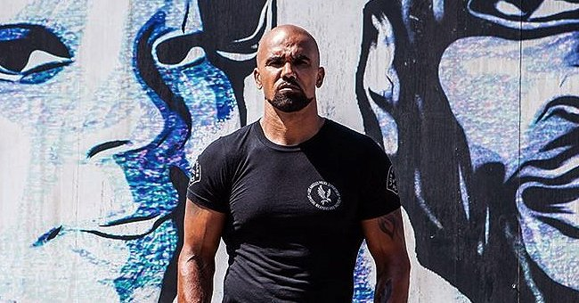 Check Out Shemar Moore as He Displays His Strong Physique in a Photo for the Return of 'SWAT'