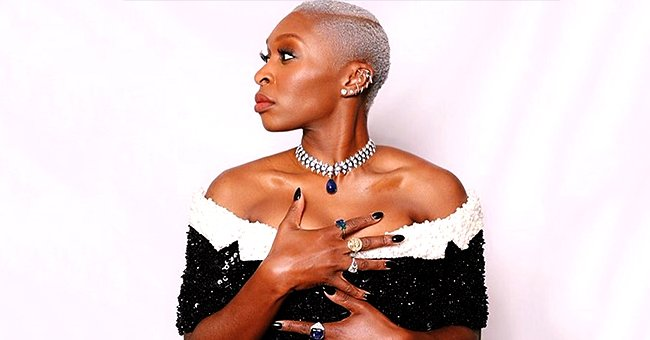 Cynthia Erivo from 'Harriet' Rocked $3 Million Bulgari Necklace and Off-The-Shoulder Gown to the 2020 Golden Globes