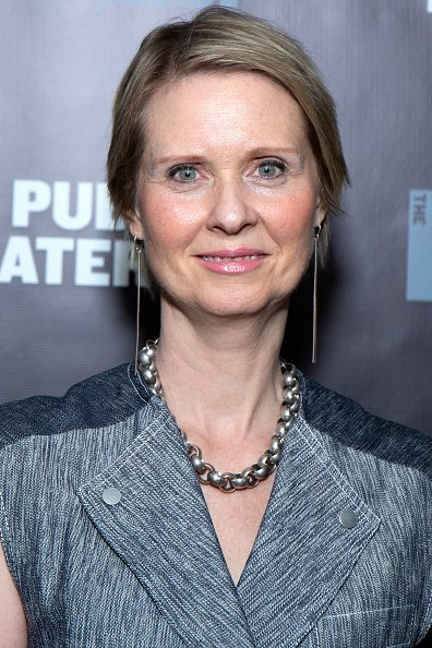 Cynthia Nixon at The Public Theater on March 27, 2019 in New York City | Photo: Getty Images
