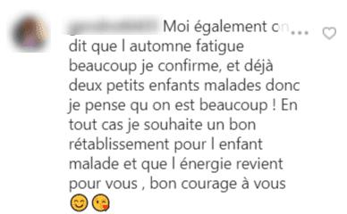 Un long commentaire capturé | Photo : Instagram