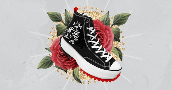 Keith Haring's First Collaboration With Converse Showcases The Power Of Creativity