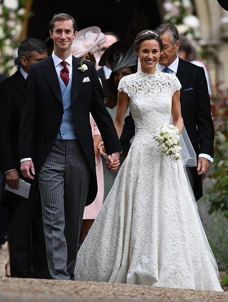 Pippa Middleton and James Matthews at St Mark's Church on May 20, 2017 in Englefield Green, England. | Photo: Getty Images