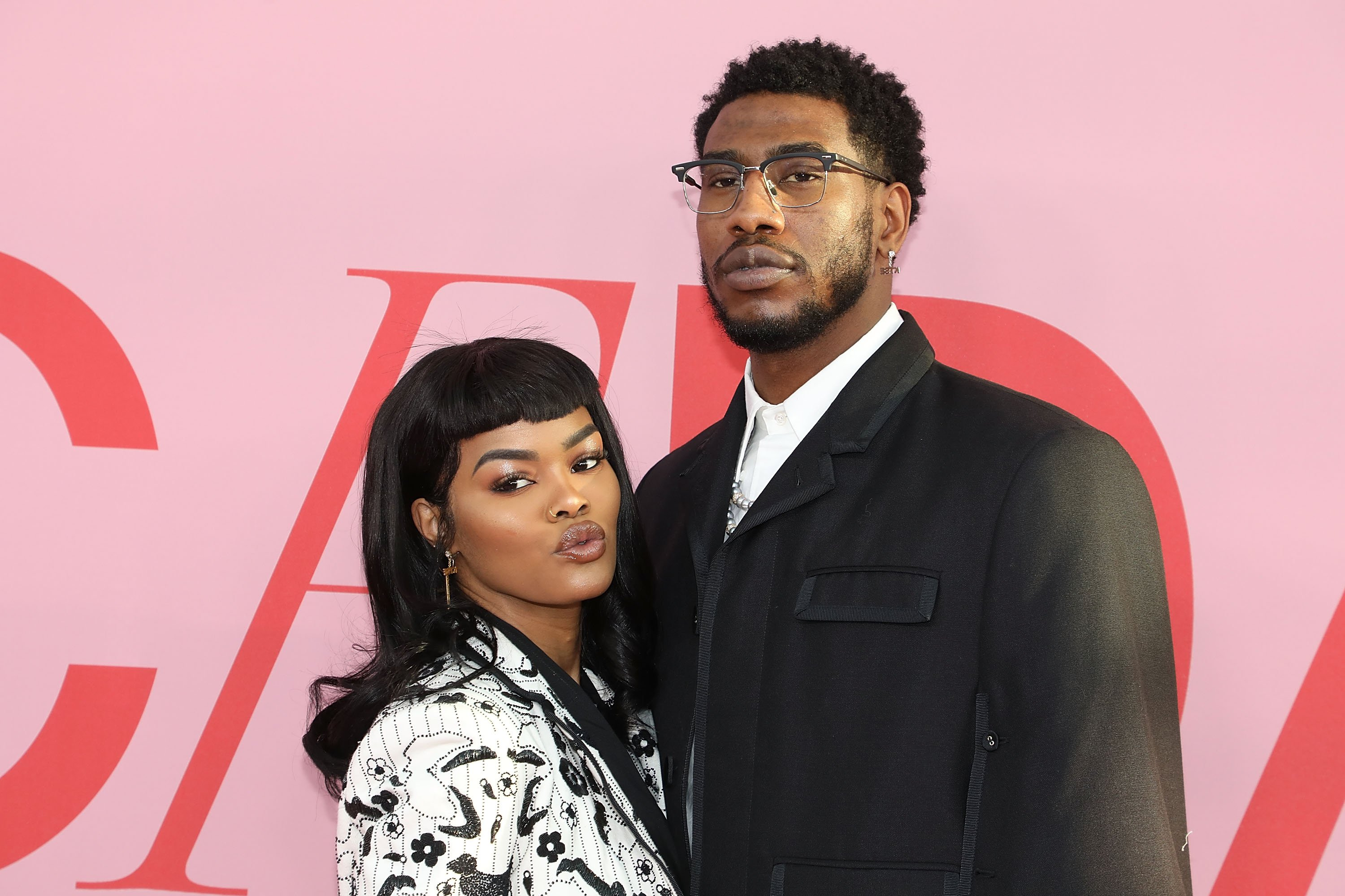 Teyana Taylor and Iman Shumpert at the 2019 CFDA Awards on June 3, 2019. | Photo: Getty Images