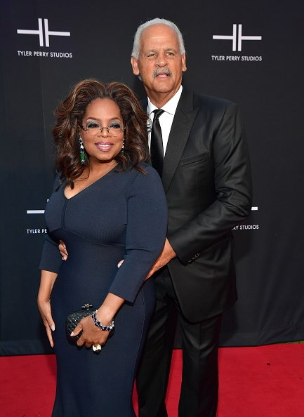 Oprah Winfrey and Stedman Graham at the Tyler Perry Studios Grand Opening Gala on October 5, 2019 | Photo: Getty Images