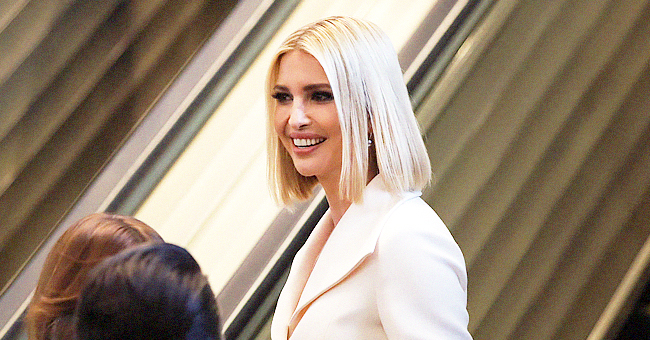 President Trump's Daughter Ivanka Is Business Chic in White Pantsuit at the UN General Assembly