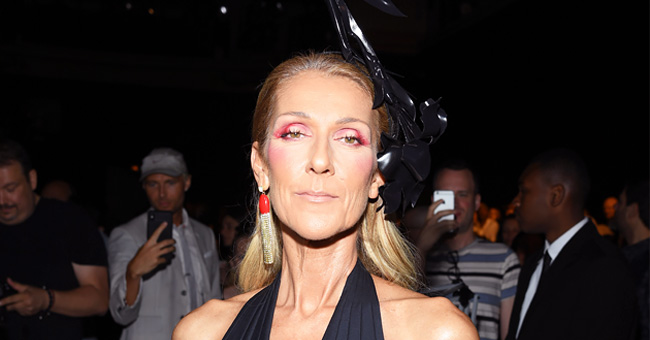 Céline Dion Wore an Unusual Headdress at Paris Couture week