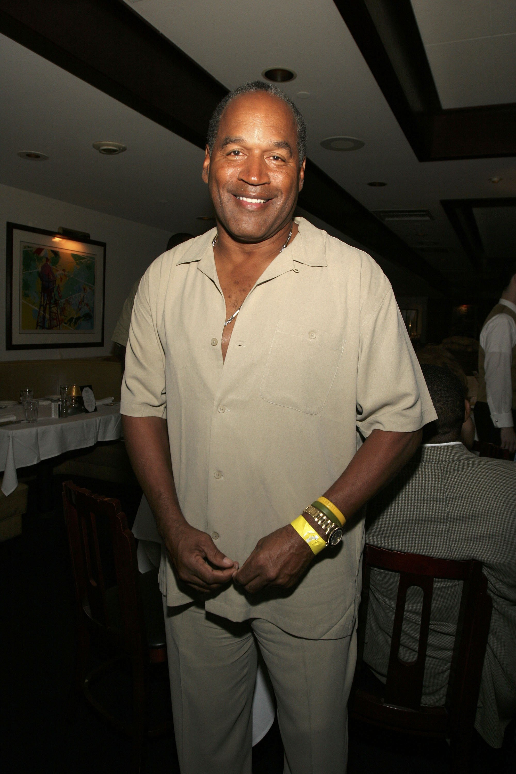 OJ Simpson at a fundraiser in Miami in April 2006. | Photo: Getty Images