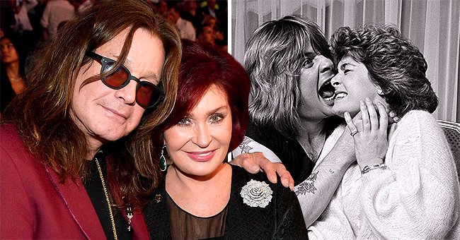 Ozzy Osbourne's Wife Sharon Jokes about Having Too Much Quality Time with Husband during Quarantine