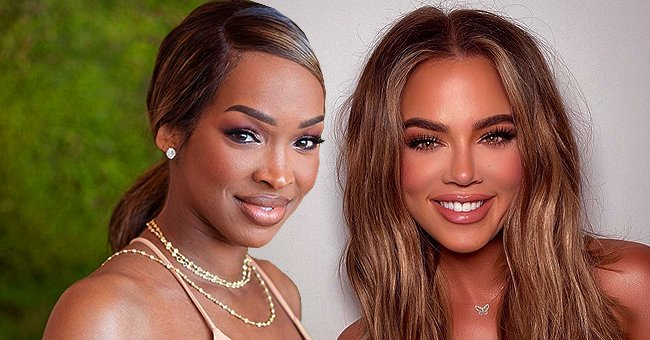 Khloé Kardashian and Her BFF Malika Haqq Look Stunning in a New Photo