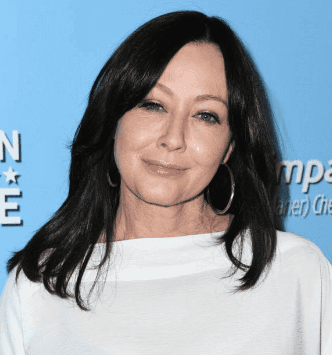 Shannen Doherty arrives on the red carrot at the 9th Annual American Humane Hero Dog Awards on October 05, 2019, in Beverly Hills, California | Source: Jon Kopaloff/Getty Images